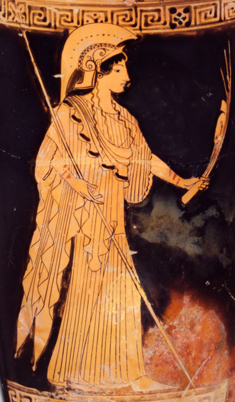 אתנה, 470 לפנה''ס (צילום: ארכיון)