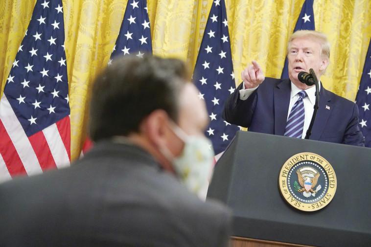 דונלד טראמפ (צילום: MANDEL NGAN/AFP via Getty Images)