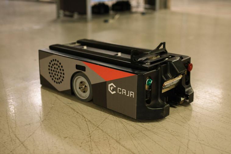 רובוטים של Caja Robotics (צילום: אסף רביבו)