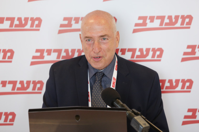 שגריר ישראל ל-OECD, אלי לב (צילום: אלוני מור)