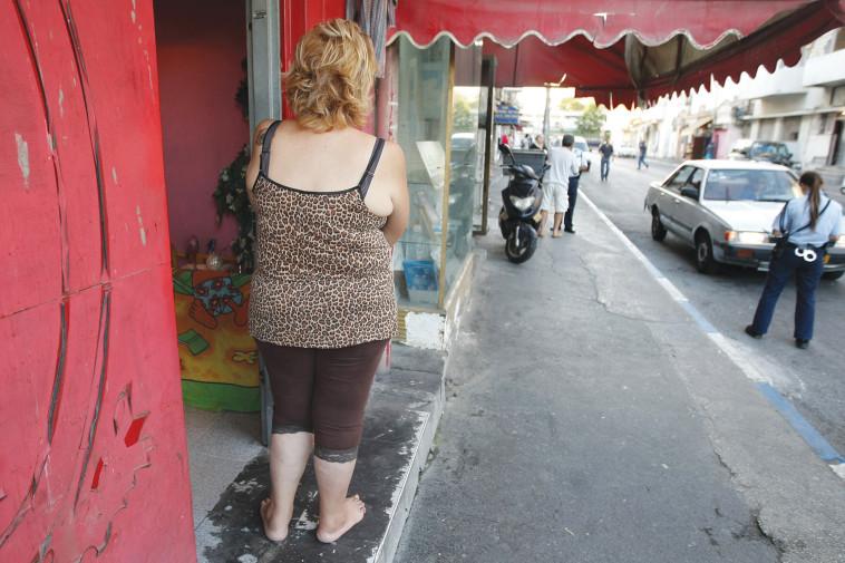 אישה בזנות (צילום: קובי גדעון, פלאש 90)