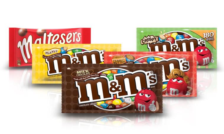 M&M's הפך לממתק הראשון בחלל, על פי בחירת האסטרונאוטים ב-1980. צילום: יח