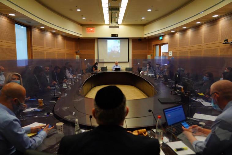 הדיון בוועדת חוקה ומשפט  (צילום: עדינה וולמן, דוברות הכנסת)
