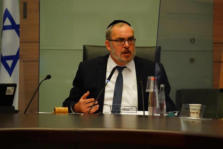 חה''כ יעקב אשר - יו''ר ועדת חוקה ומשפט (צילום: עדינה וולמן, דוברות הכנסת)