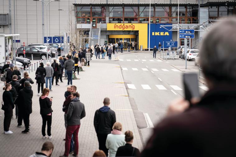 חזרה לשגרה בדנמרק (צילום: רויטרס)