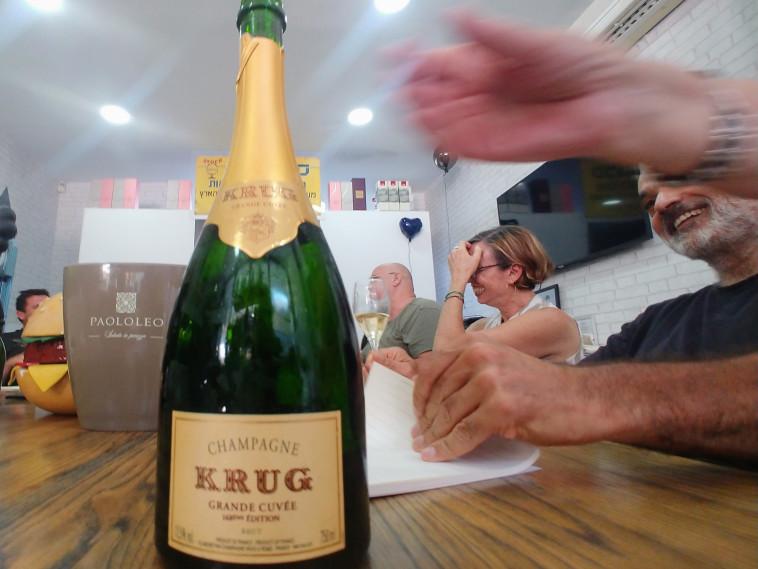 שמפניה קרוג  (צילום: טל כץ)