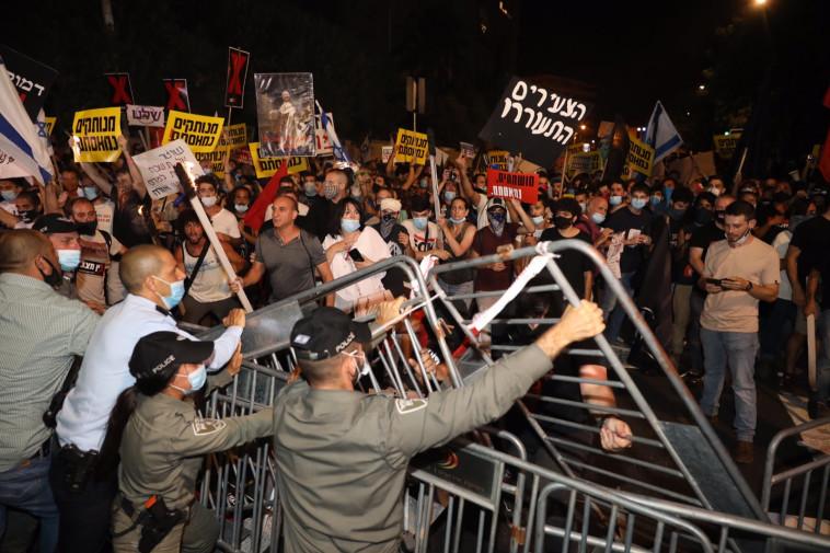 """""""קבוצה אנרכיסטית לקחה את ההפגנה למחוזות שאיש לא חשב עליהם"""""""