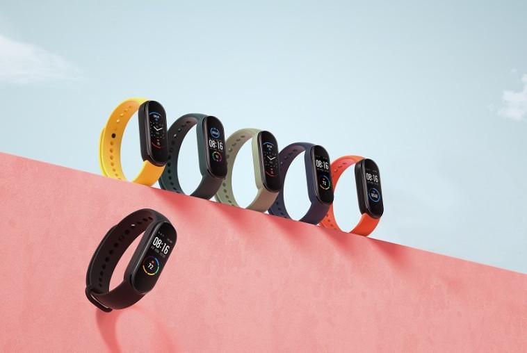 צמיד הכושר החכם - שיאומי Mi Band 5 (צילום: יח''צ שיאומי)