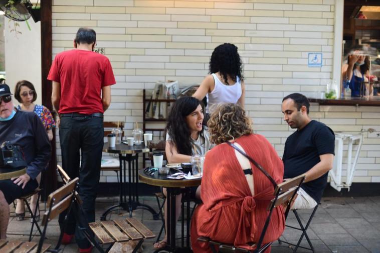 מסעדה בתל אביב (צילום: אבשלום ששוני)