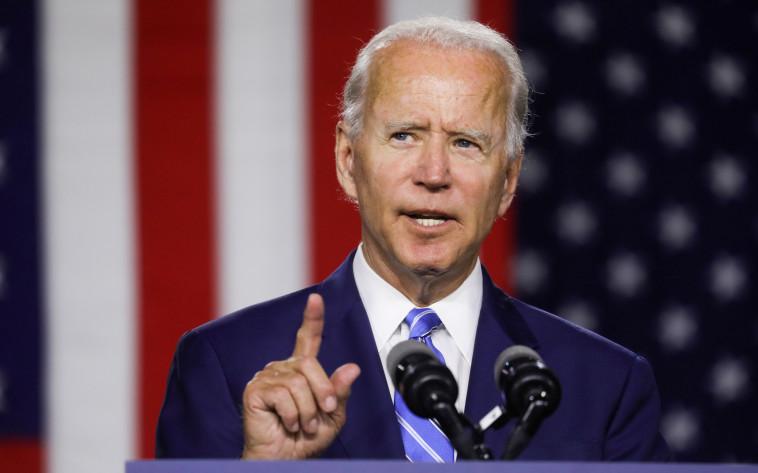 ג'ו ביידן (צילום: REUTERS/Leah Millis/File Photo)