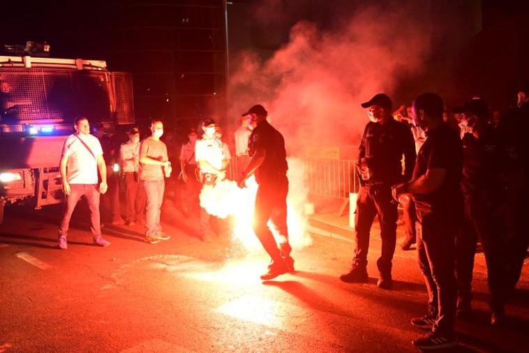 המחאה בתל אביב (צילום: אבשלום ששוני)