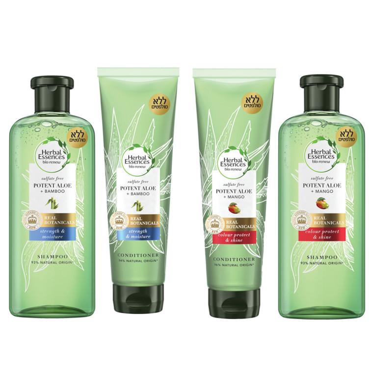 סדרת השמפואים של Herbal Essence (צילום: יח''צ)
