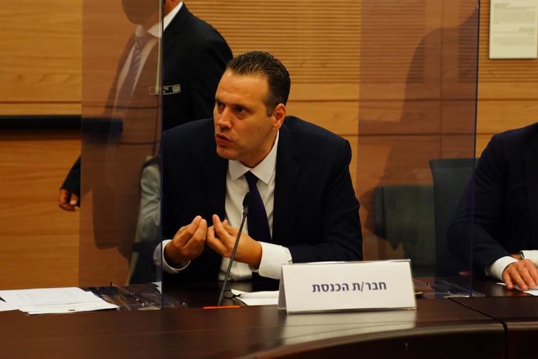 מיקי זוהר בדיון בוועדת הקורונה (צילום: עדינה וולמן, דוברות הכנסת)