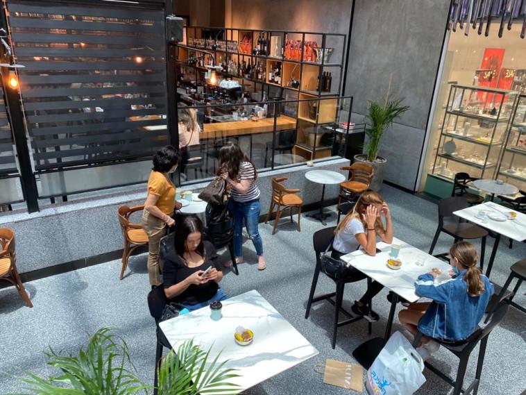 מסעדות בתקופת הקורונה (צילום: אבשלום ששוני)