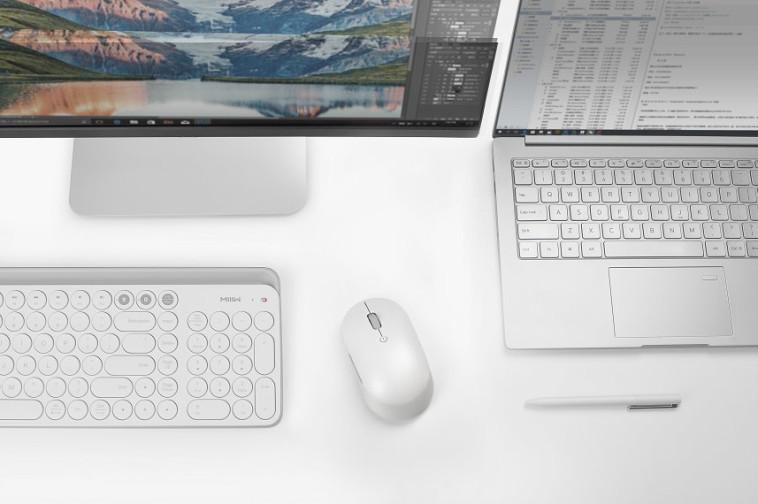 עכבר אלחוטי של שיאומי - Xiaomi Mi Dual Mode Wireless Mouse Silent Edition (צילום: יח''צ שיאומי)