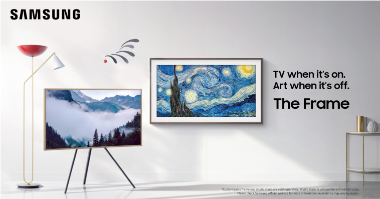 טלוויזיית The Frame של סמסונג (צילום: יח''צ סמסונג)