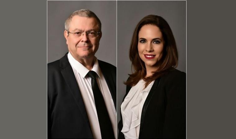 עורכי הדין יפעת שי-יוספזון ואברהם שי (צילום: תומר אלבז)