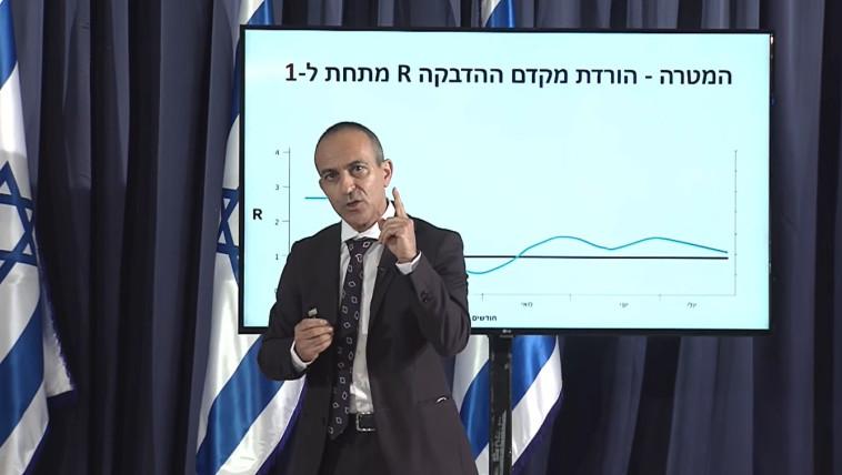 פרופ' רוני גמזו (צילום: צילום מסך)