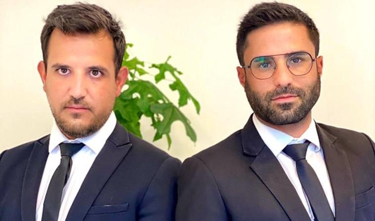 עורכי הדין שמעון מזרחי וקובי מלכה (צילום: יח''צ)