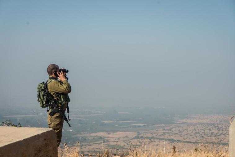 כוננות צה''ל בגבול הצפון (צילום: דובר צה''ל)