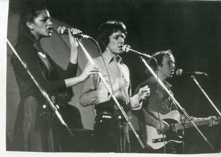 להקת גזוז, 1979 (צילום: שעיה סגל)
