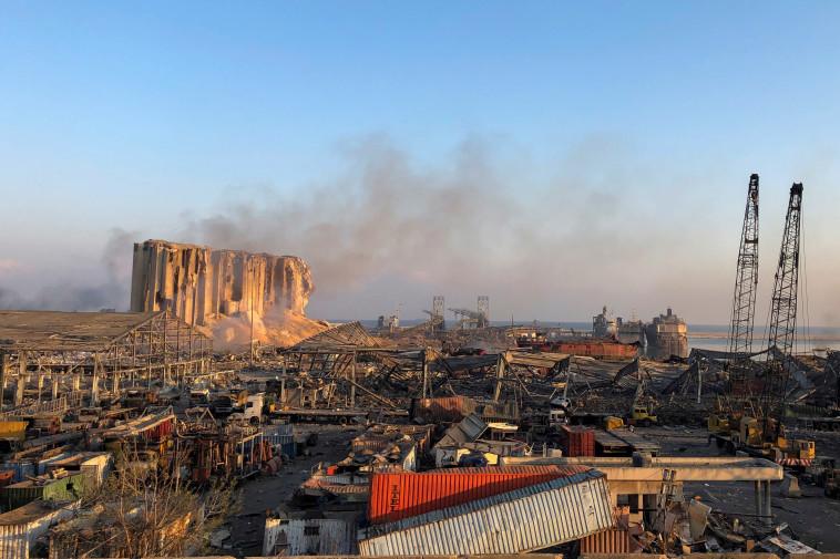 ההרס האדיר בלבנון (צילום: רויטרס)