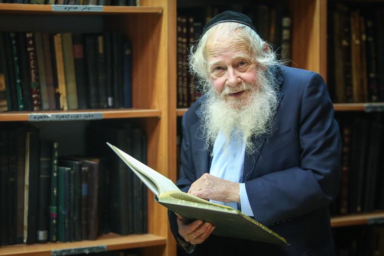 הרב עדין שטייינזלץ ז''ל (צילום: מרק ישראל סלם)
