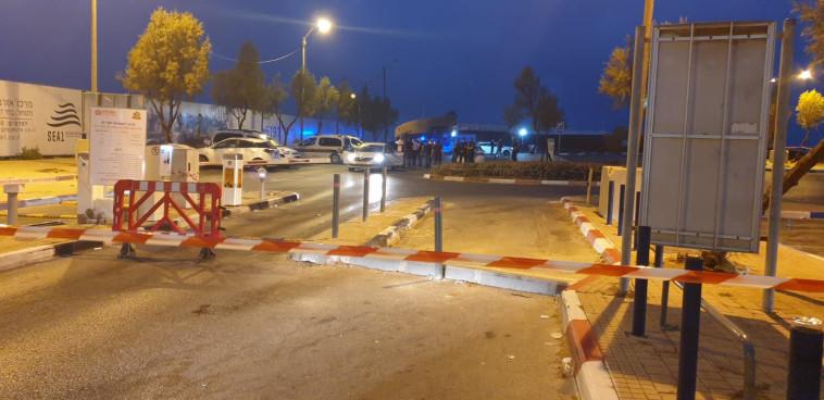 Suspected murder in Rishon Lezion (Photo: Police spokeswoman)