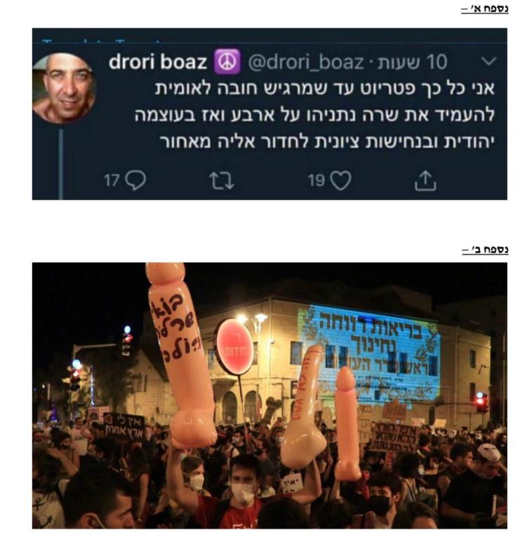 הפוסטים נגד שרה נתניהו (צילום: צילום מסך)