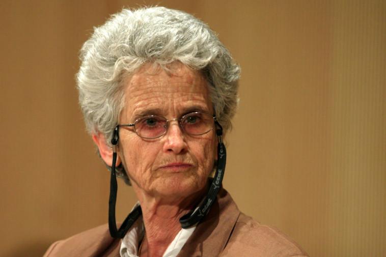 פרופסור רות גביזון (צילום: אוליבייה פיטוסי, פלאש 90)