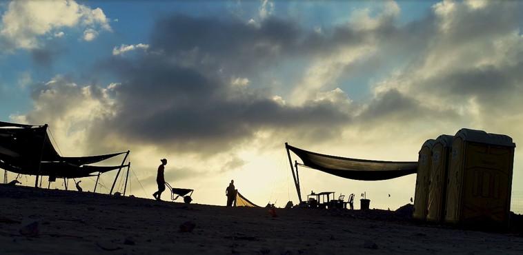 חפירות רשות העתיקות ברהט (צילום: אמיל אלג'ם, רשות העתיקות)