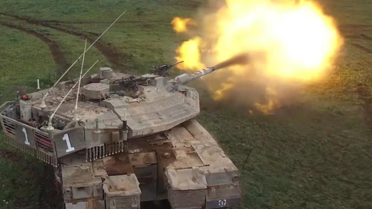 טנק צה''לי (צילום: דובר צה''ל)