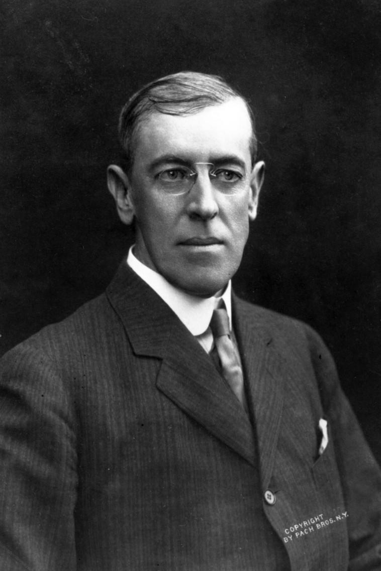 הנשיא ווילסון (צילום: Hulton Archive, GettyImages )