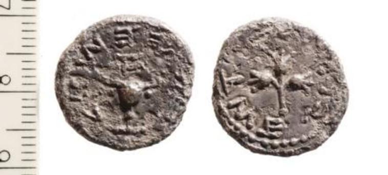 מטבעות עתיקים שנמצאו בסינון העפר בהר הבית (צילום: באדיבות פרוייקט סינון עפר מהר הבית)