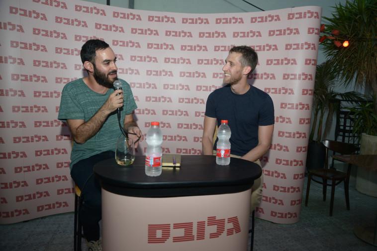 עמרי זרחוביץ' עם אייל רפפורט, מנכ''ל מחקר ופיתוח מייקרוסופט ישראל לשעבר (צילום: איל יצהר, גלובס)