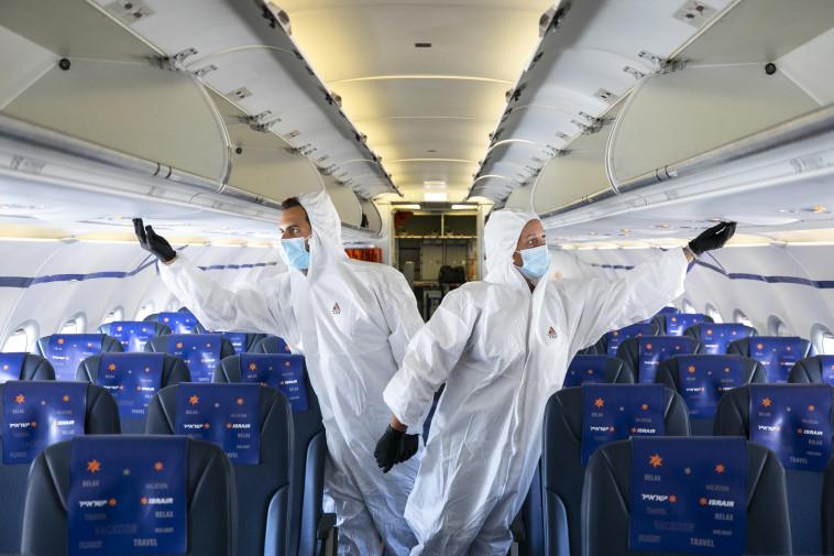 טיסות לאילת בימי הקורונה, ארכיון (צילום: אוליבייר פיטוסי, פלאש 90)