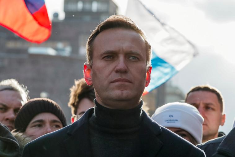 אלכסיי נבלני (צילום: REUTERS/Shamil Zhumatov/File Photo)