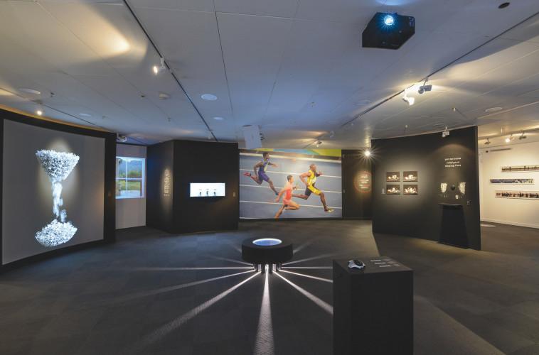 התערוכה זמן במוזיאון האסלאם (צילום: שי בן אפרים)