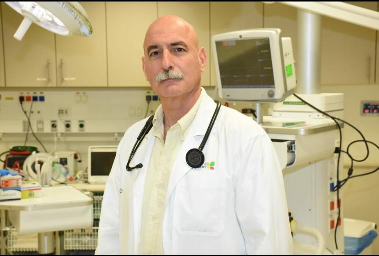 פרופ' מיכאל דרשר (צילום: באדיבות האיגוד לרפואה דחופה)