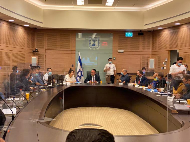 חברי הוועדה (צילום: עדינה ולמן, דוברות הכנסת)