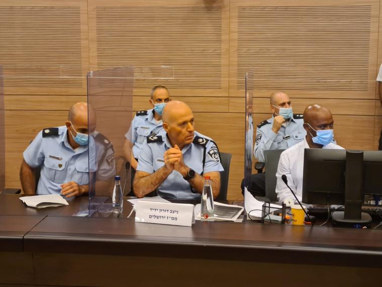 מפקד מחוז ירושלים, ניצב דורון ידיד (צילום: דוברות ועדת הפנים)