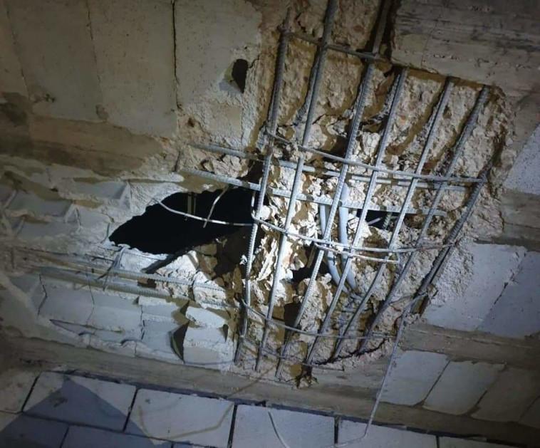 נזקי התקיפה הישראלית בלבנון (צילום: רשתות ערביות)