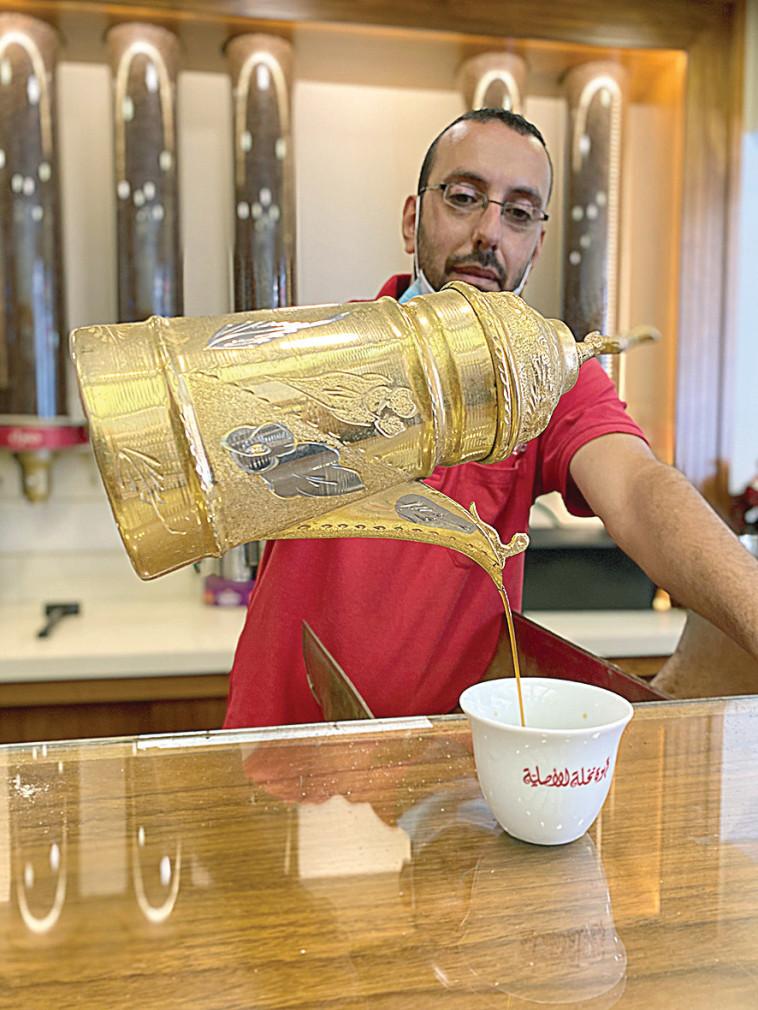 קפה נח'לה (צילום: מיטל שרעבי,מיטל שרעבי, עמרי אילת, דודי לזר, עדי פרץ, באדיבות אוצרות הגליל)