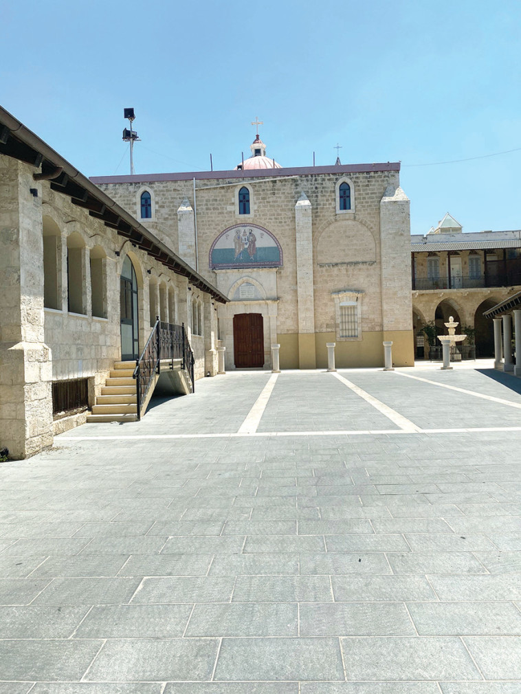 כנסיית פטרוס ופאולוס (צילום: מיטל שרעבי)