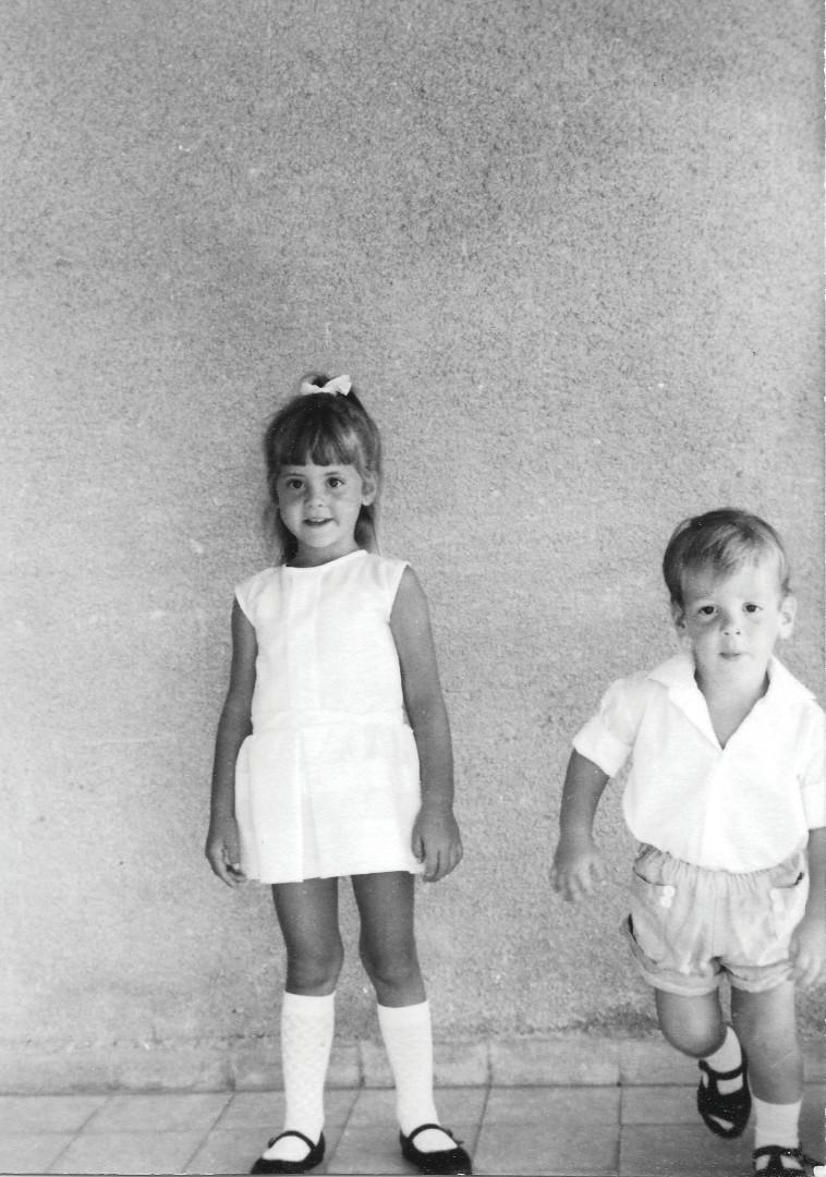 לילך סיגן כילדה (צילום: צילום פרטי)