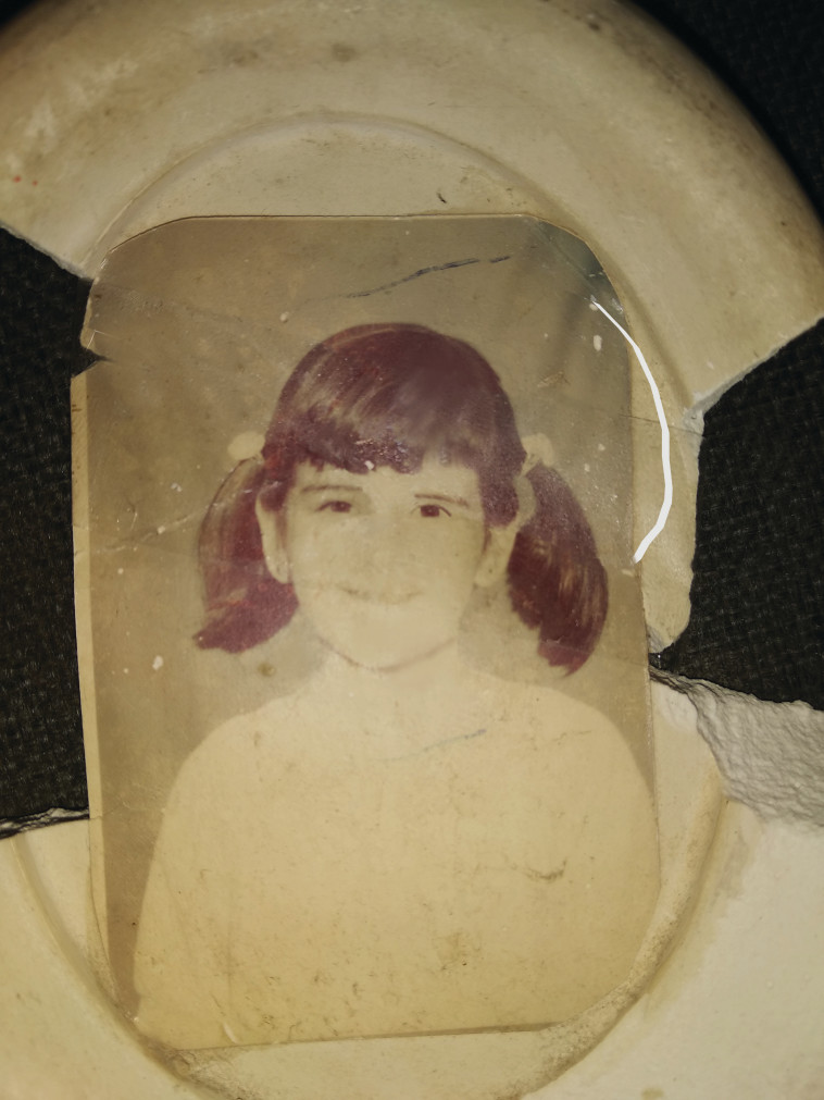 אורלי עסיס כילדה  (צילום: פרטי)