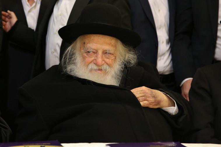 הרב חיים קנייבסקי (צילום: יעקב כהן, פלאש 90)