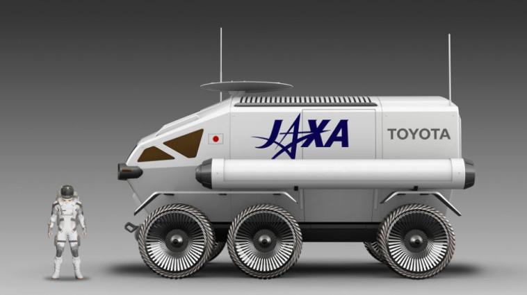 הדמייה של הלואנר קרוזר - רכב החלל של טויוטה (צילום: TOYOTA)