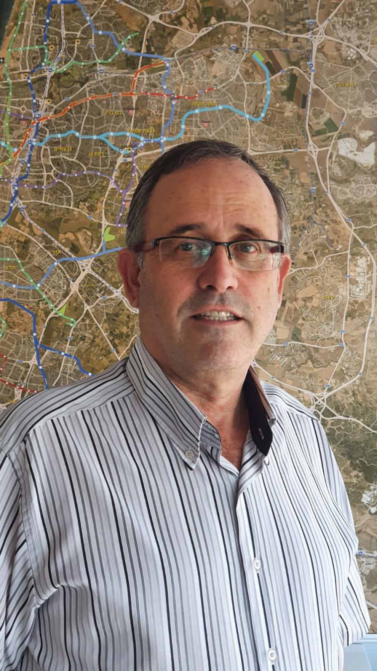 מנכ''ל נת''ע חיים גליק (צילום: דוברות נת''ע)