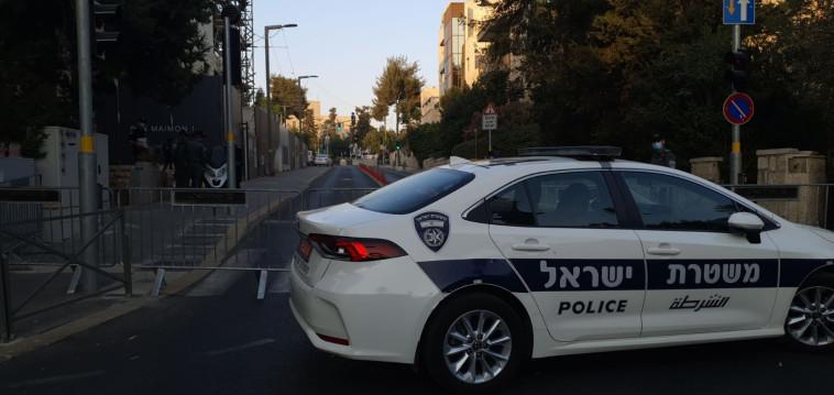 ניידת משטרה, אילוסטרציה (למקום המצולם אין קשר לנאמר בכתבה) (צילום: דוברות המשטרה)